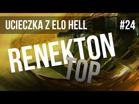 Nervarien Ucieka Z Elo Hell (#24 Renekton TOP)