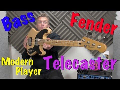 Fender Modern Player Telecaster Bass Review