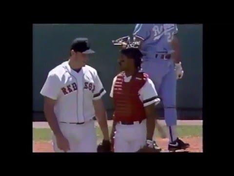 1990 MLB Royals at Red Sox