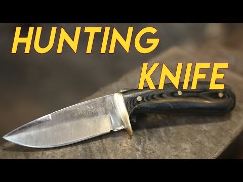 80 Year Old Blacksmith Forges Hunting Knife