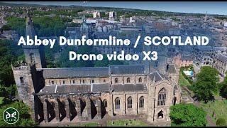 Dunfermline Abbey DJI Inspire Scotland, GYRO.one