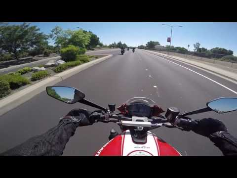 Ducati Monster 1200R Test Ride at A&S Motorcycles[MotoVlog]