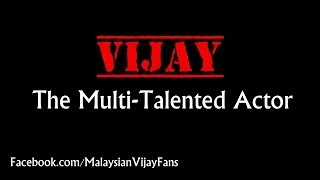 VIJAY : The Multi-Talented Actor