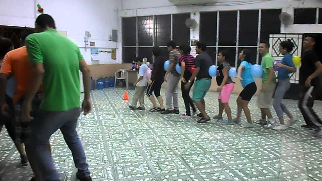Dinamicas Para Jovenes El Tren Con Globos Youtube