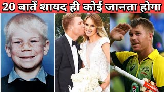 20 Facts You Didn't Know About David Warner