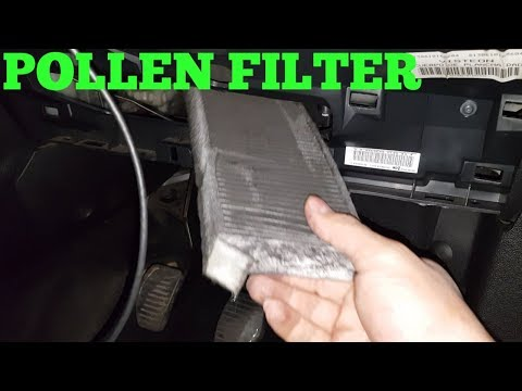 HOW TO CHANGE PEUGEOT PARTNER CABIN FILTER/ POLLEN FILTER