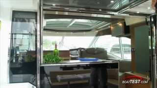 Cruisers Yachts 45 Cantius Features 2013- By BoatTest.com