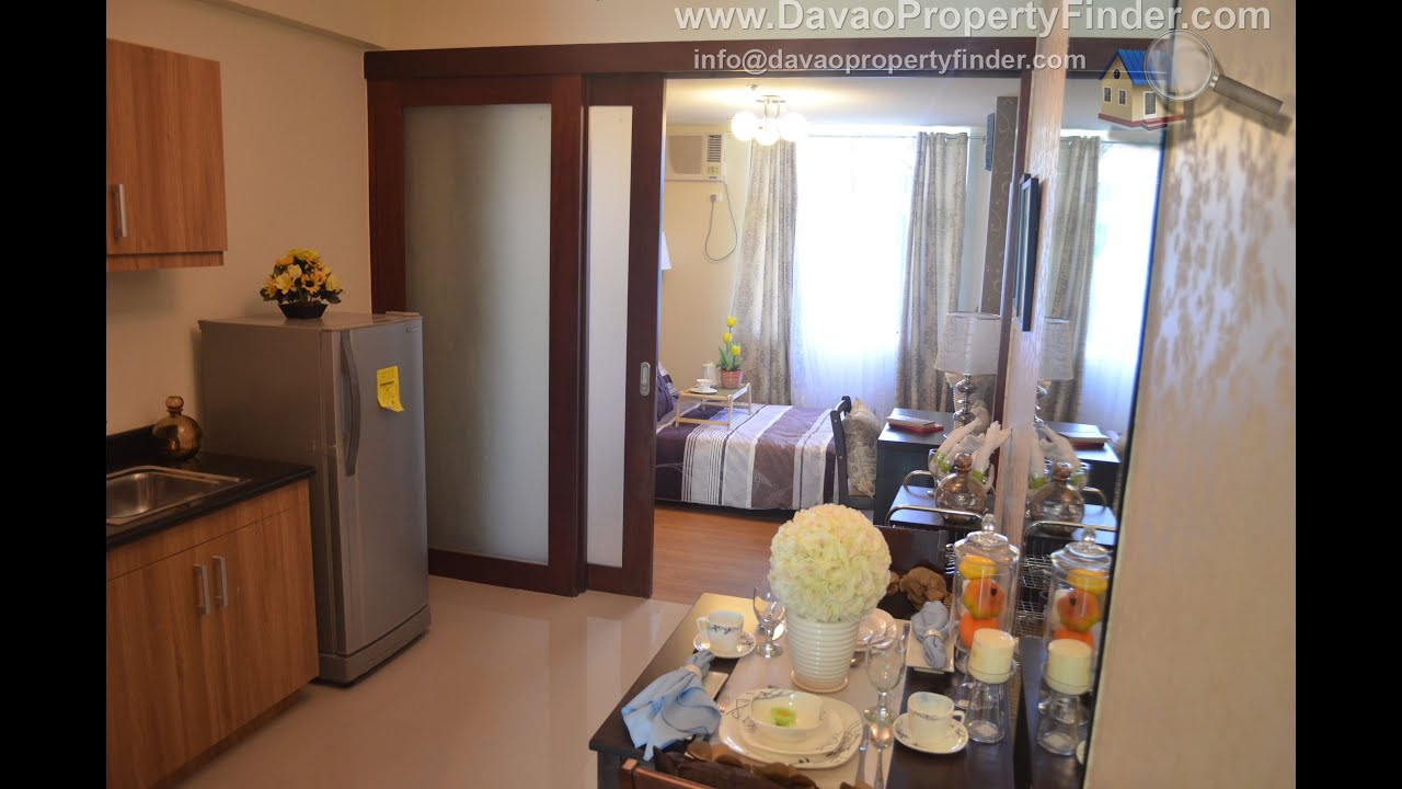 Unit a 1 bedroom model unit at verdon parc condominium for Smdc 1 bedroom interior design