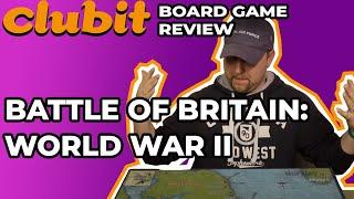 Battle of Britain World War 2 Emulation Board Game