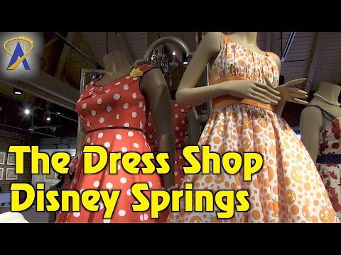 The Dress Shop opens inside Marketplace Co-Op at Disney Springs