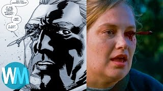 10 Walking Dead Comic Scenes Too Graphic For Tv