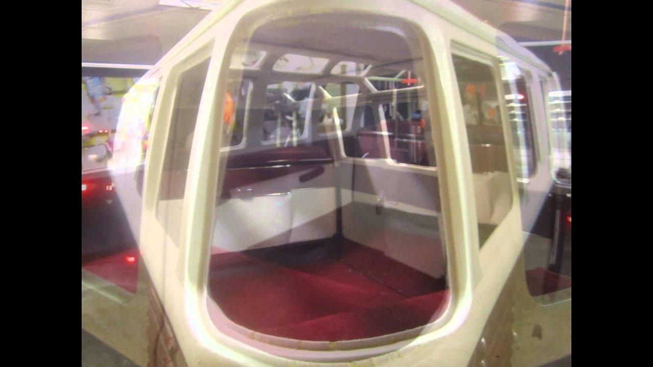 63 VW 23 Window Bus Interior Install   YouTube