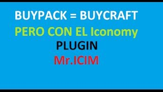 buypack plugin / Sistema para vips y mas GRATIS SIN BUYCRAFT