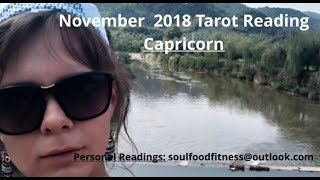 November 2018 Monthy, Tarot Card Reading for Capricorn ( Sun, Moon,...