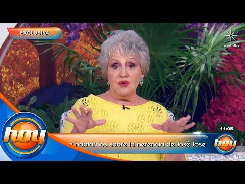 EXCLUSIVA: Anel Noreña muestra documentos que la acreditan como heredera universal de José José