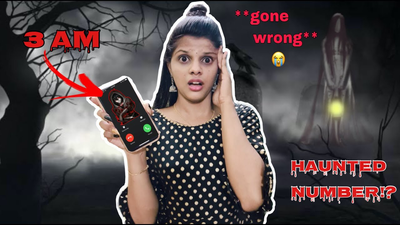 Calling HAUNTED Numbers At 3Am| You Should Never Calling these numbers|*went wrong*😭[TAMIL]