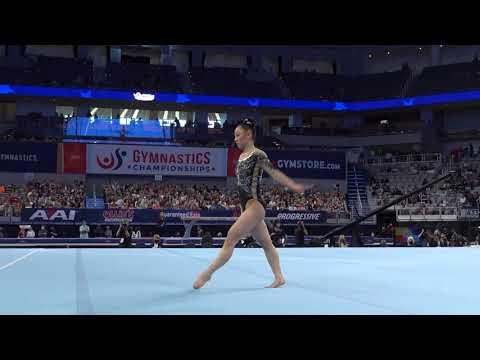 Kara Eaker - Floor Exercise - 2021 U.S. Gymnastics Championships - Senior Women Day 2