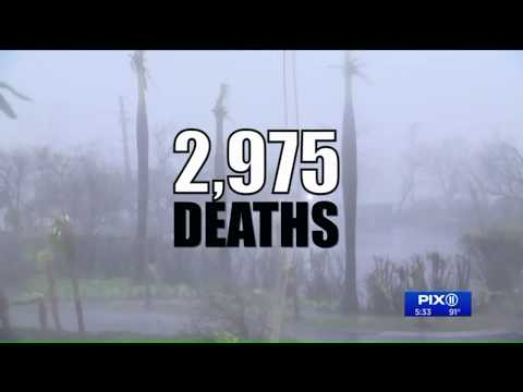 Hurricane Maria`s death toll in Puerto Rico put at nearly 3,000