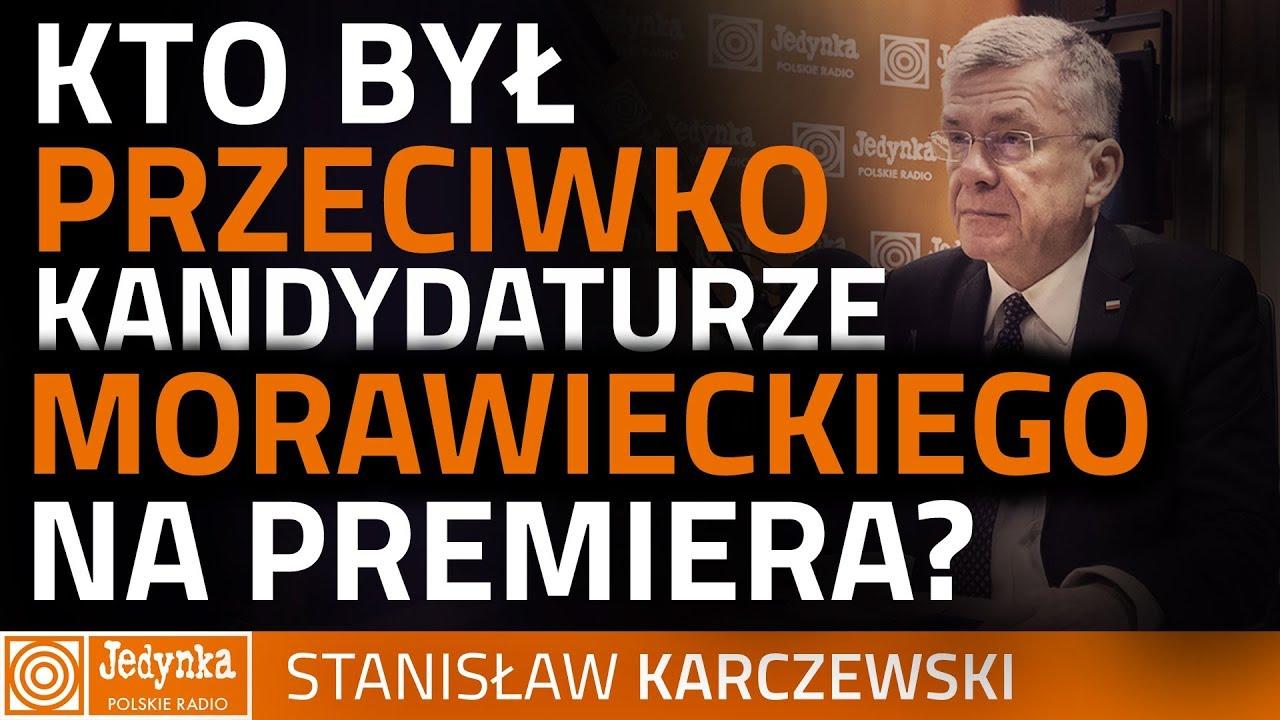 Karczewski: nie byłem przeciwko Morawieckiemu. To fake news