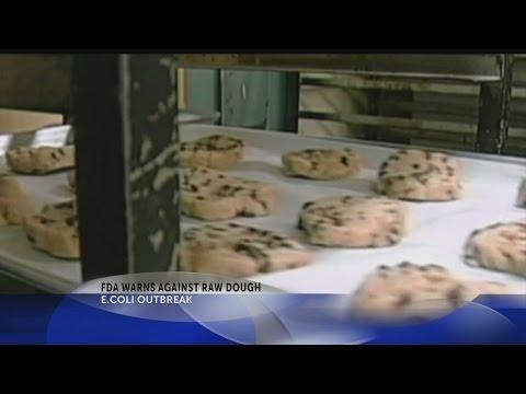 FDA warns against raw dough