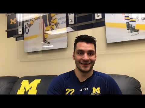 Ann Arbor native Niko Porikos on playing for Michigan - YouTube