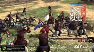 Samurai Warriors 4 II - Gameplay PC [60fps]