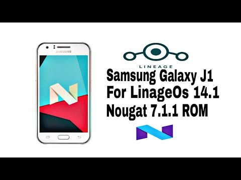 LINAGE OS 14 1 SAMSUNG GALAXY SM-J100H STABLE ROM
