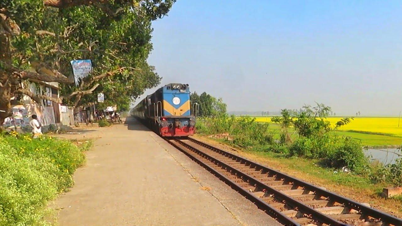 BG PT INKA Ekota express Train || Bangladesh Railway