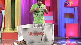 Jabardasth - Chalaki Chanti Performance on 26th December 2013