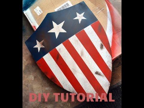 Captain America WWII Heater Shield Replica: DIY Tutorial