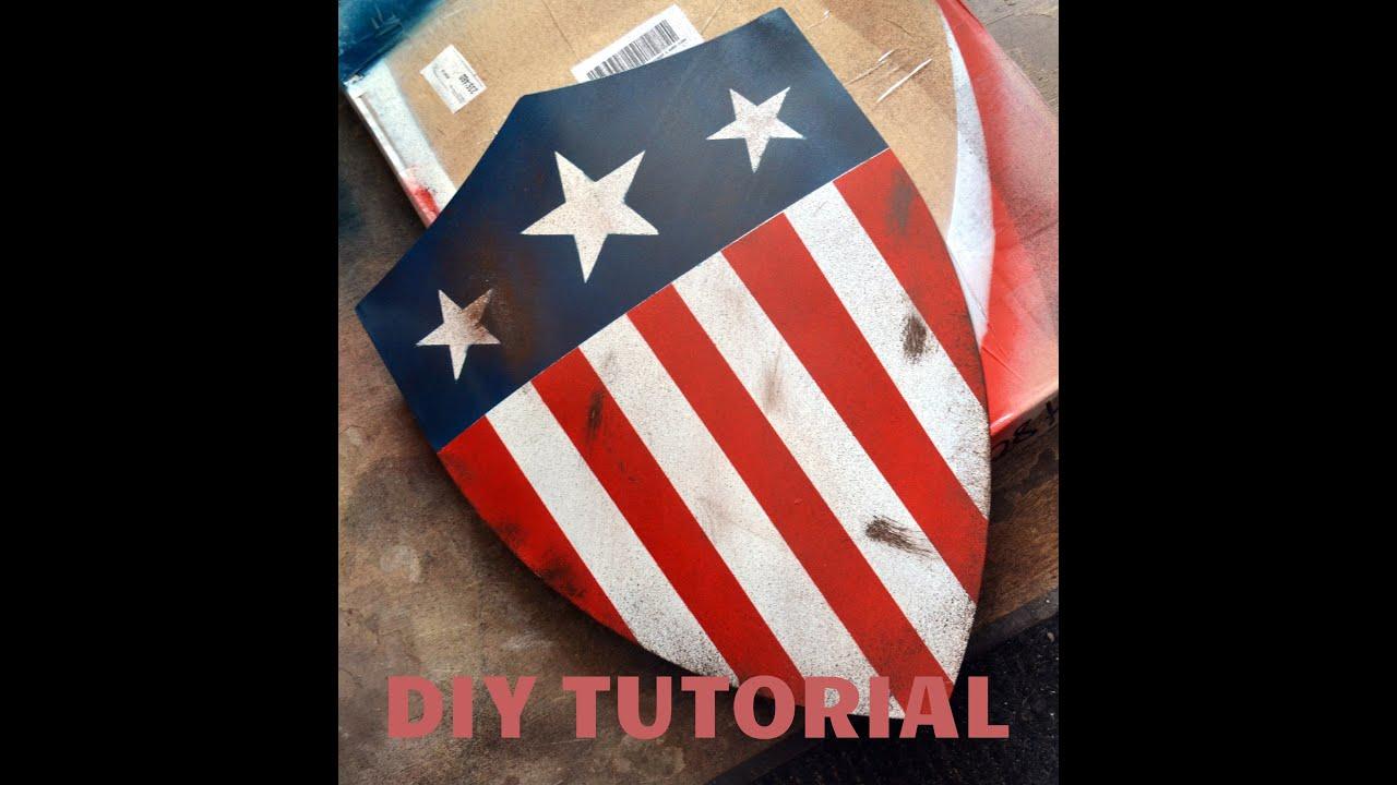 captain america shield template pdf