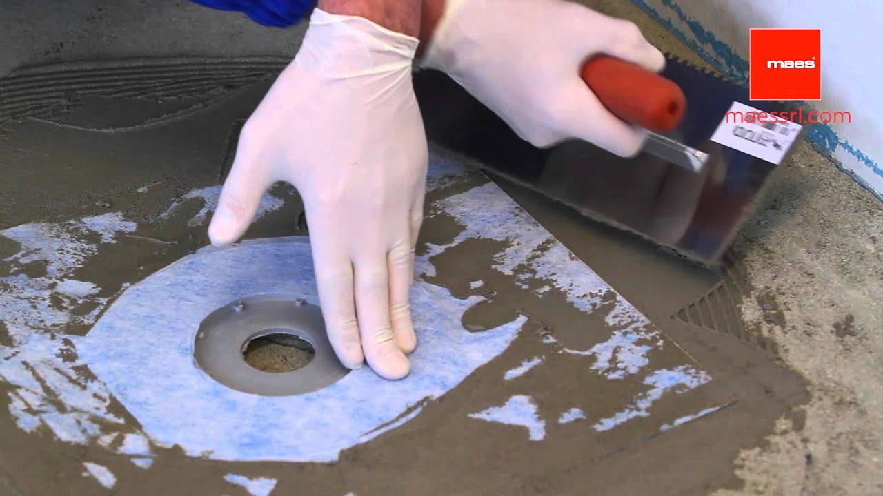 Impermeabilizzare pavimento doccia