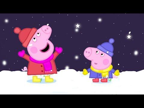 Peppa Pig Français ❄️ Mer, soleil et neige ❄️ Peppa Noël | Dessin Animé