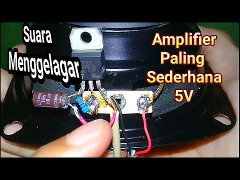 Amplifier mini simple (using tip 31)make n test