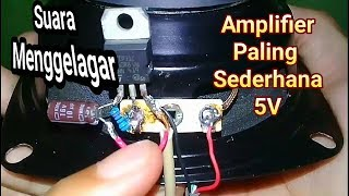 Download Video Amplifier mini simple (using tip 31)make n test MP3 3GP MP4
