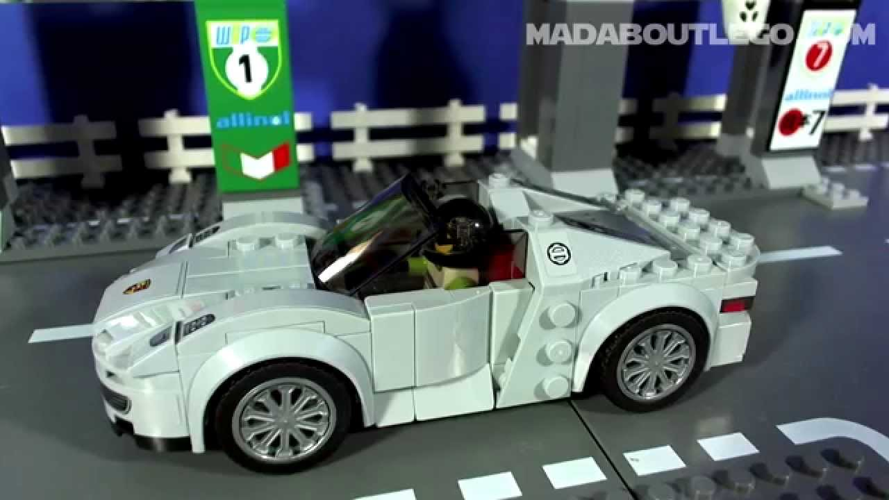 LEGO Porsche 918 Spyder Speed Champions 75910 - YouTube