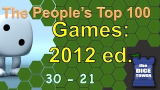 2012:  Top 100 Games of All Time: People's Choice (# 30 - # 21)