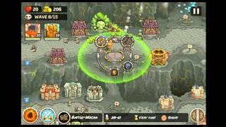 Kingdom Rush Frontiers - Veteran The Dark Descent - Level 14 Hard