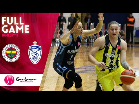 Fenerbahce Oznur Kablo  v Dynamo Kursk - Full Game - EuroLeague Women 2019-20