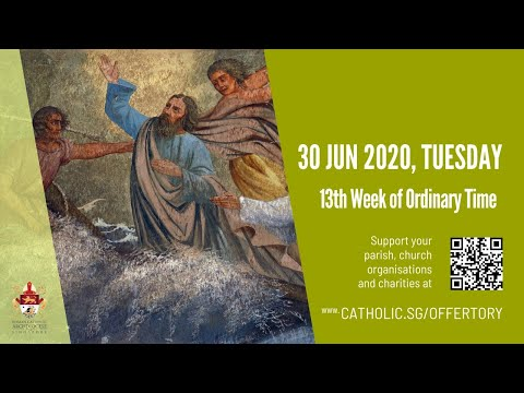 Catholic Weekday Mass Today Online -  Tuesday, 13th Week of Ordinary Time 2020