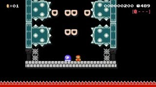 vuclip Nintendo Thumb Challenge! HARD! by Ben.Z. - SUPER MARIO MAKER - No Commentary