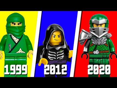 ЭВОЛЮЦИЯ ЛЛОЙДА LEGO NINJAGO! ВСЕ ВЕРСИИ ЛЛОЙД НИНДЗЯГО (Lego News-287)