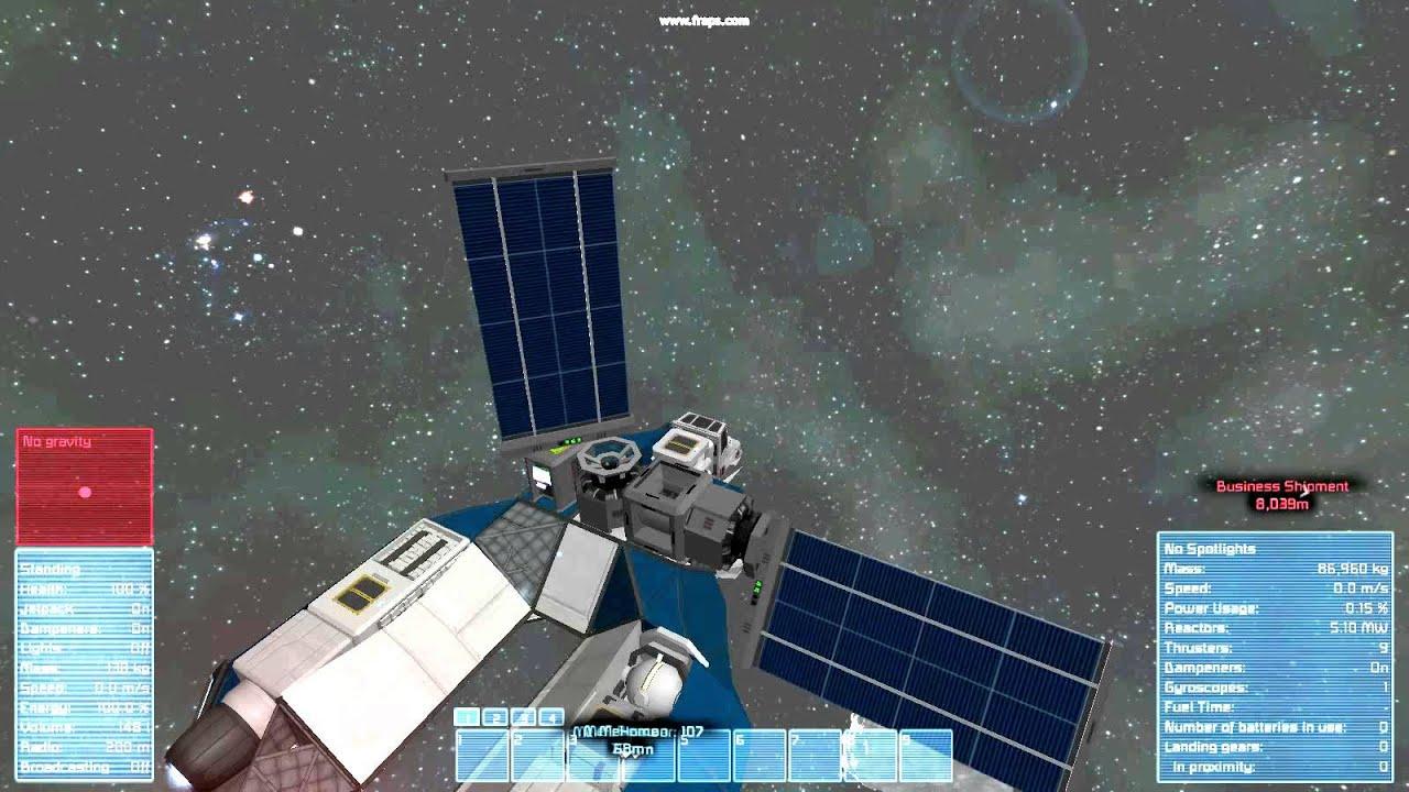 Space Engineers Programming Self Stabilising Horizontal