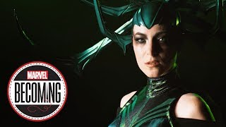 Hela -- Marvel Becoming -- Cosplayer Jessica Dru Johnson