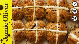 Gluten Free Hot Cross Buns | Four Spoons Bakery