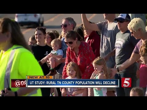 Study Predicts Future Decline In Rural Tennessee County Populations