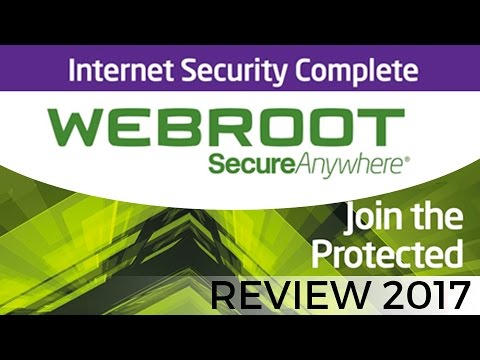 Webroot SmartSecurity Internet Security Review for 2017