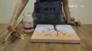 Dsign - Handcraft - Lukisan kancing