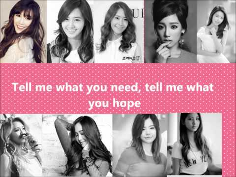 Girl's Generation/ SNSD genie japanese version lyrics