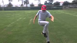 Hip Cross Over Leg Explosive Drill Exercise Baseball Softball Training